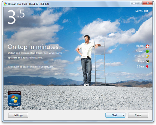 HitmanPro 3 6 2 Build 174